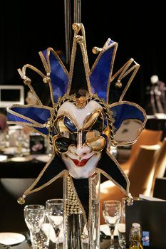 Masquerade Mask Event Table Decoration