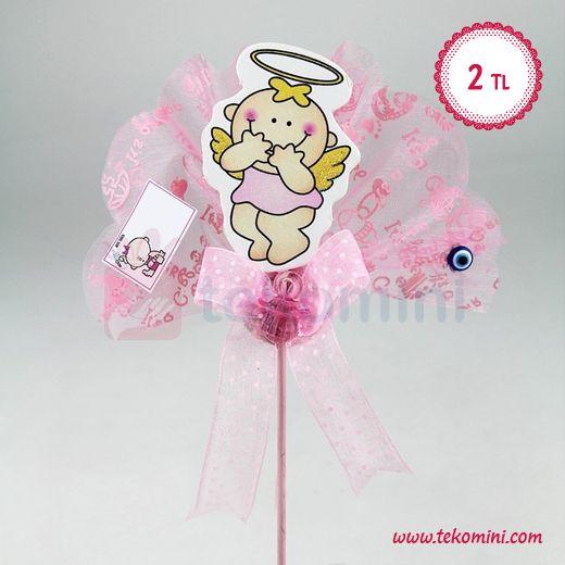 Çubuklu Melek Kız Bebek Şekeri Ahşap 2 TL Pembe ve Mavi renk seçenekleri vardır. #çubuklu #melek #kız #bebek #şekeri #ahşap #pembe #tekomini WhatsApp: 538 490 98 10