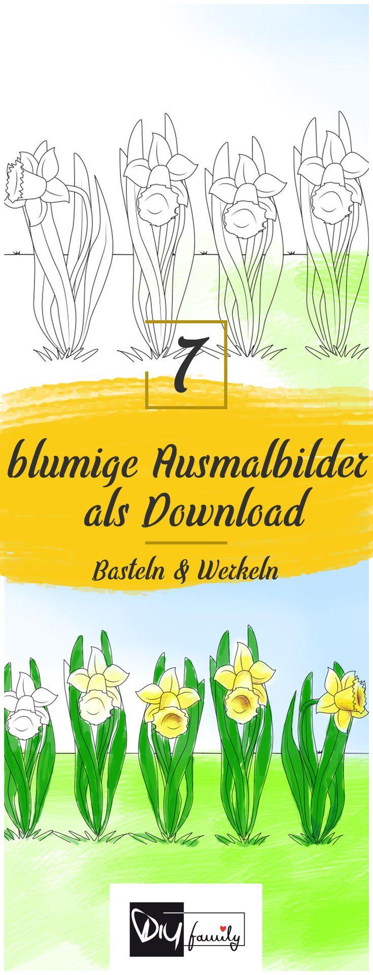 17 best ideas about Malvorlagen Frühling on Pinterest ...