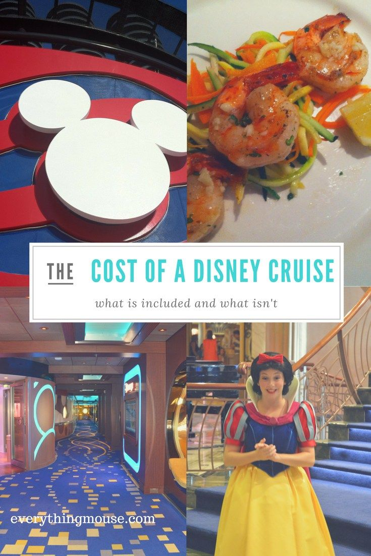 Disney Cruise Tips. What is included on a Disney Cruise?