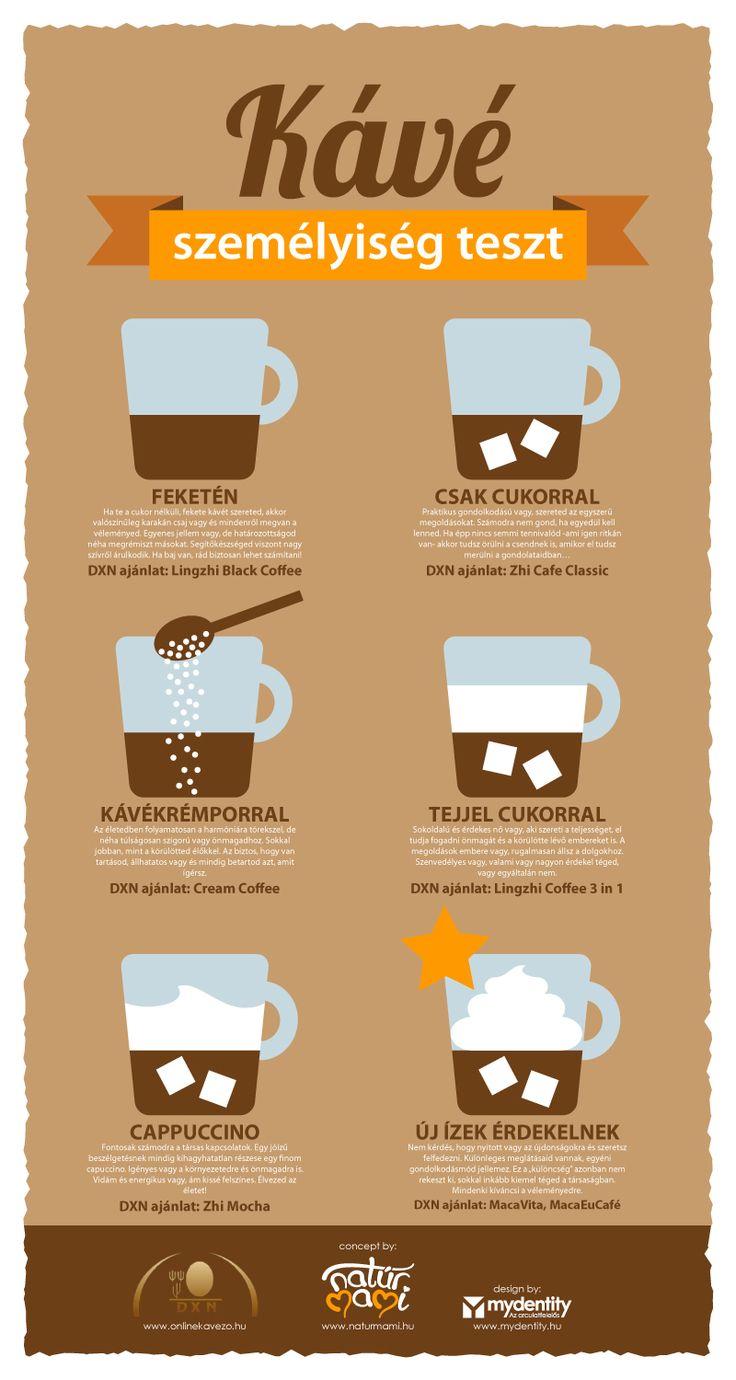 Kávé személyiség teszt!