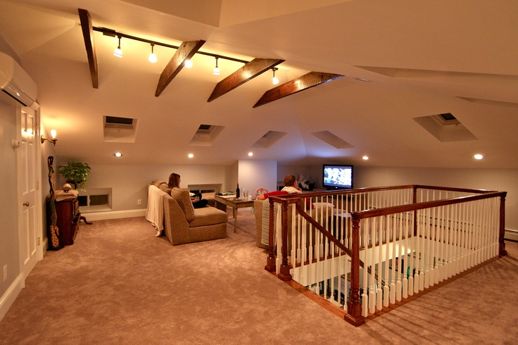 How our attic addition turned out!!