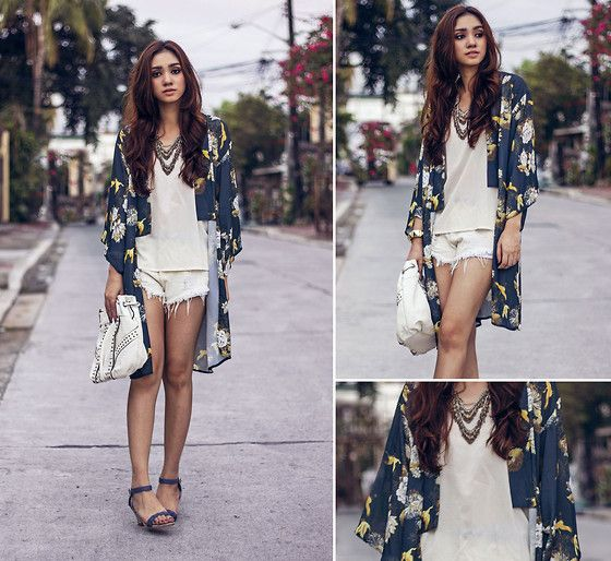 In Love With Fashion Oriental Print Kimono