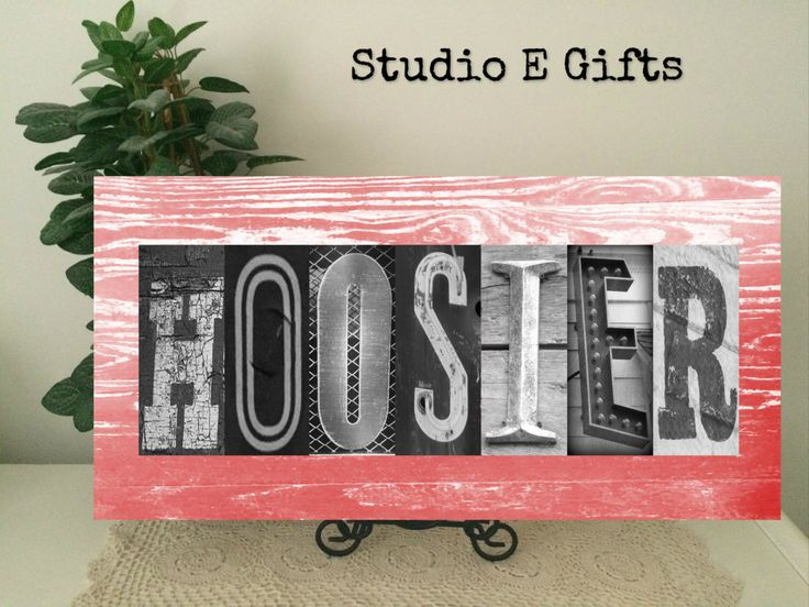 A personal favorite from my Etsy shop https://www.etsy.com/listing/234868195/hoosier-alphabet-art-indiana-photography