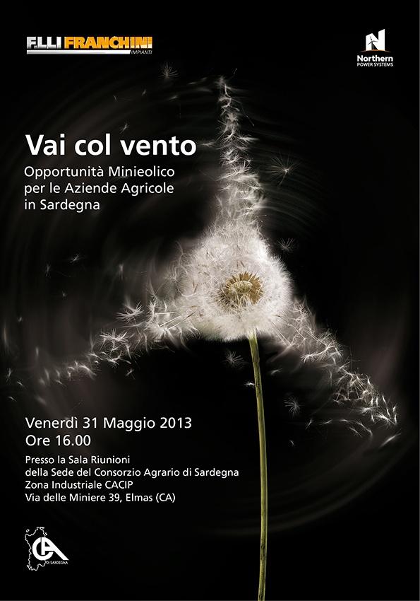 ADV Eolico. Opportunità Minieolico  per le Aziende Agricole  in Sardegna