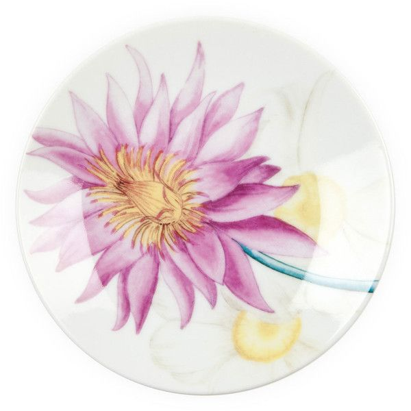 Zara Home Coloured Flowers Bread Plates (23 BRL) ❤ liked on Polyvore featuring home, kitchen & dining, dinnerware, yellow, colored dinnerware, floral porcelain dinnerware, yellow dinnerware, floral dinnerware and porcelain dinnerware