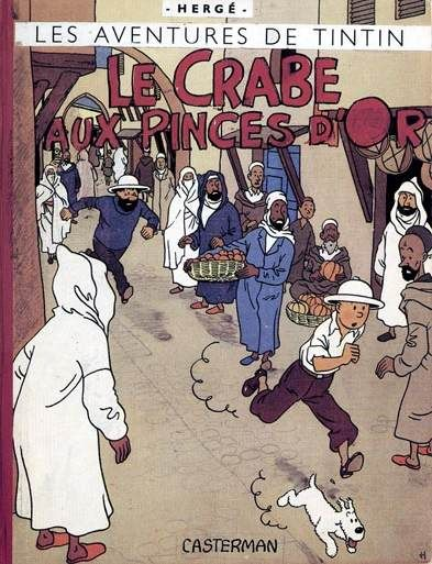 Les Aventures de Tintin - Album Imaginaire - Le Crabe aux Pinces d'Or