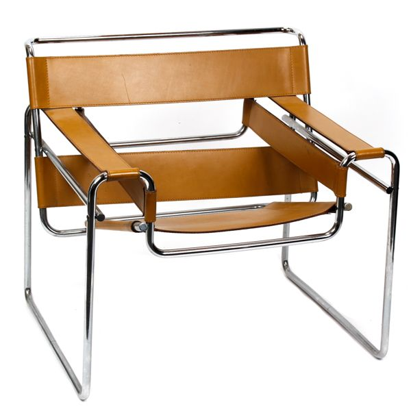 Wassily chair by Knoll International, after Marcel Breuer