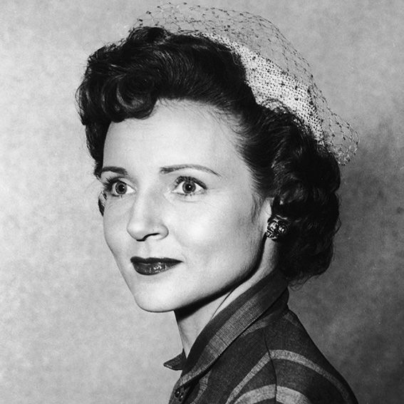 Betty White's Changing Looks - 1950 from #InStyle