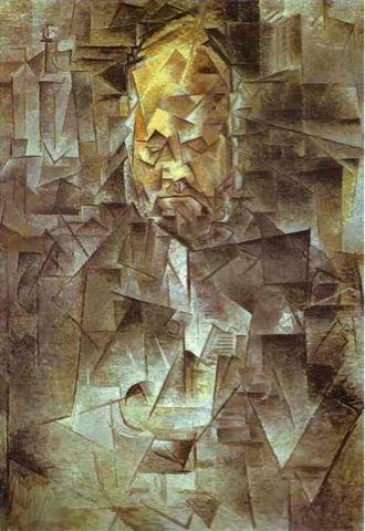 Max M Blog BE: Analytischer Kubismus - Ambroise Vollard von Pablo Picasso