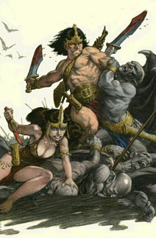 King Conan VS the Horde of Hades
