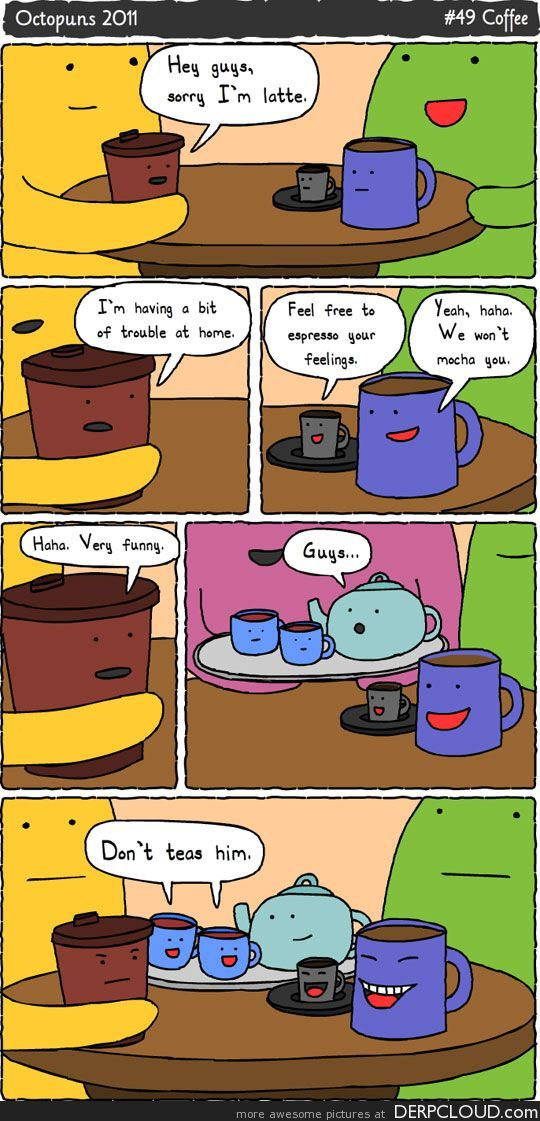 Oh the puns!