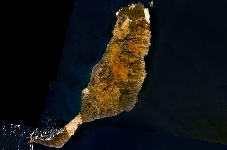 Satellietfoto Fuerteventura