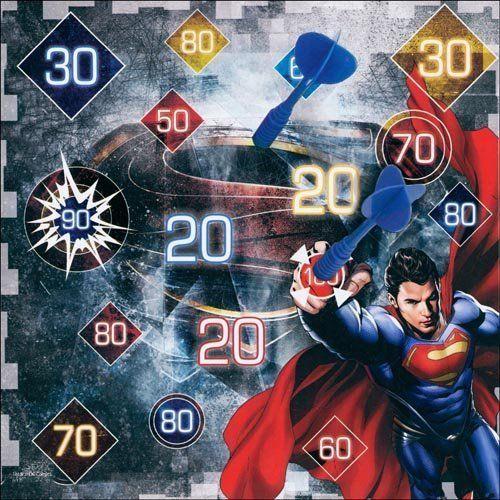 Superman 3D DARTBOARD by Cardinal. Superman 3D DARTBOARD.