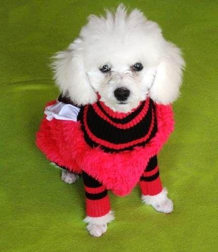 vestido de inverno na cor rosa e preto
