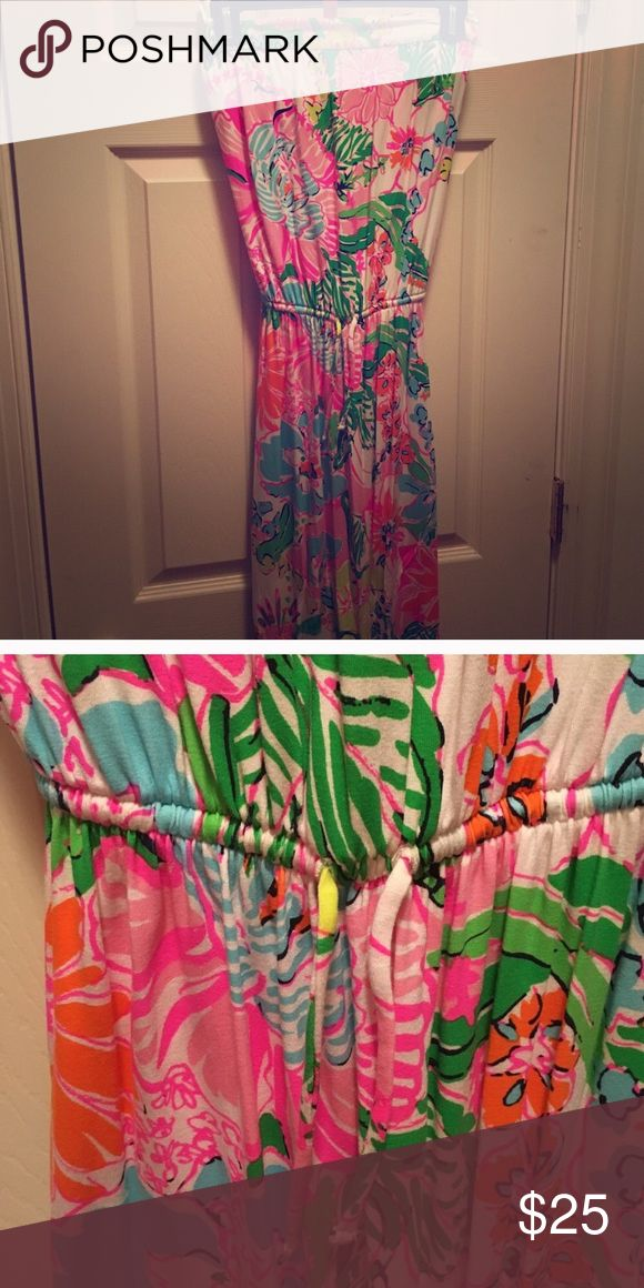 Lilly Pulitzer for Target maxi dress Very cute maxi dress, stretchy and breathable fabric. Lilly Pulitzer for Target Dresses Maxi