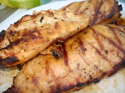Meat Marinade | The Sisters Cafe; I've made this with chicken and steak.  It's yummy either way!