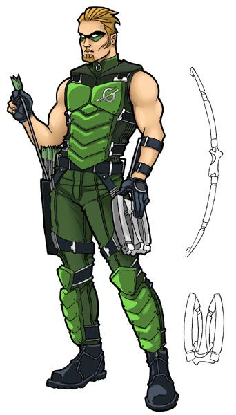 Green Arrow Redesign by JoelRCarroll on DeviantArt