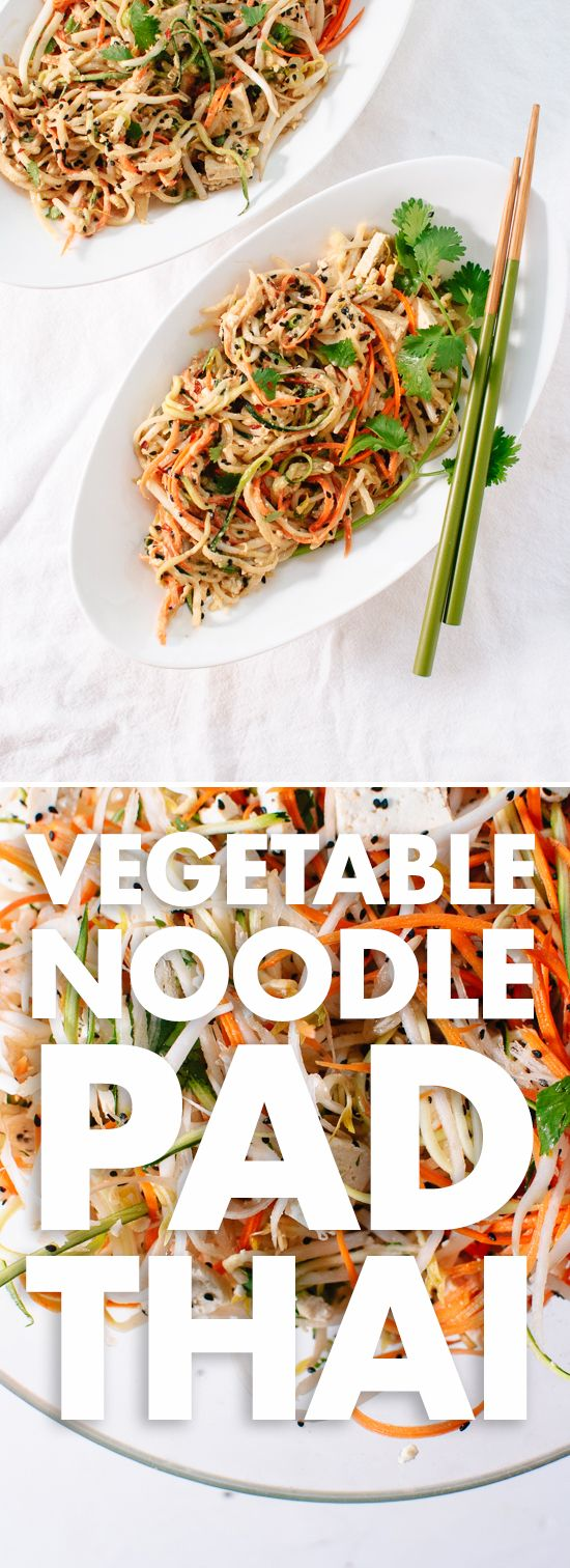 A fresh, meatless, noodle-free spin on traditional pad Thai - cookieandkate.com