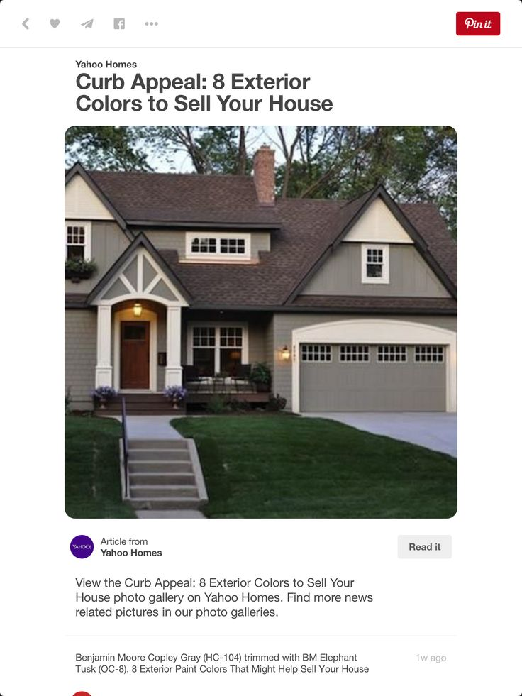 Exterior House Colors That Sell Home Design