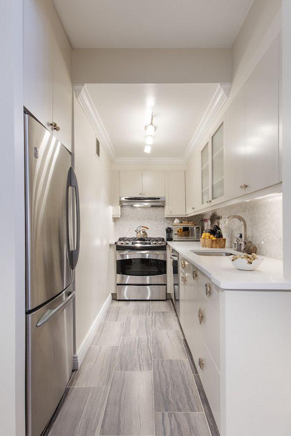 Corridor Kitchen Design Creative Extraordinary Design Review