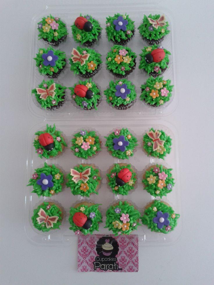 minicupcakes primaverales