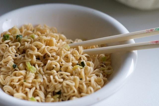 I love me some noodles! ;)
