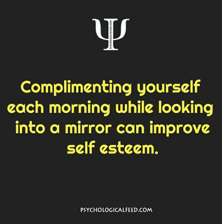 Do compliment urself. Get up compliment urself. And i will compliment u in school daily