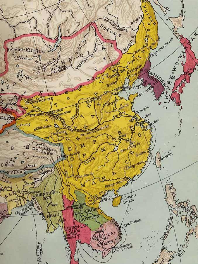 Ming Dynasty 1368u20131644 u2013 Chinese History Ancient