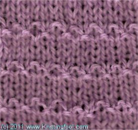 Knittingfool Stitch Gallery : 17 Best images about knit stitch on Pinterest Ribs, Knit patterns and Lace ...