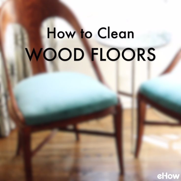 Make your wood floors sparkle with this simple cleaning method.