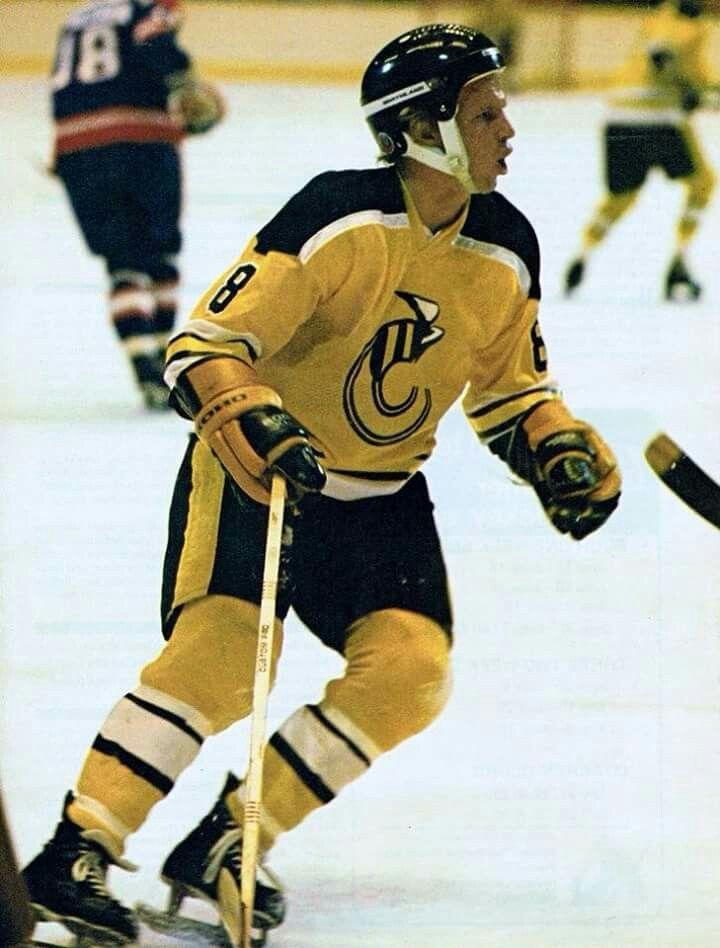 WHA legend Robbie Ftorek and the sensational Cincinnati Stingers uniform.