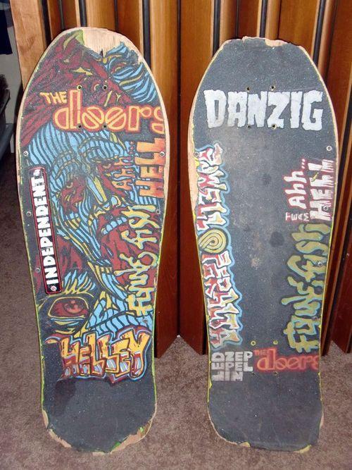 To draw on skateboards griptape chalk hair spray or a for Best paint for skateboard decks