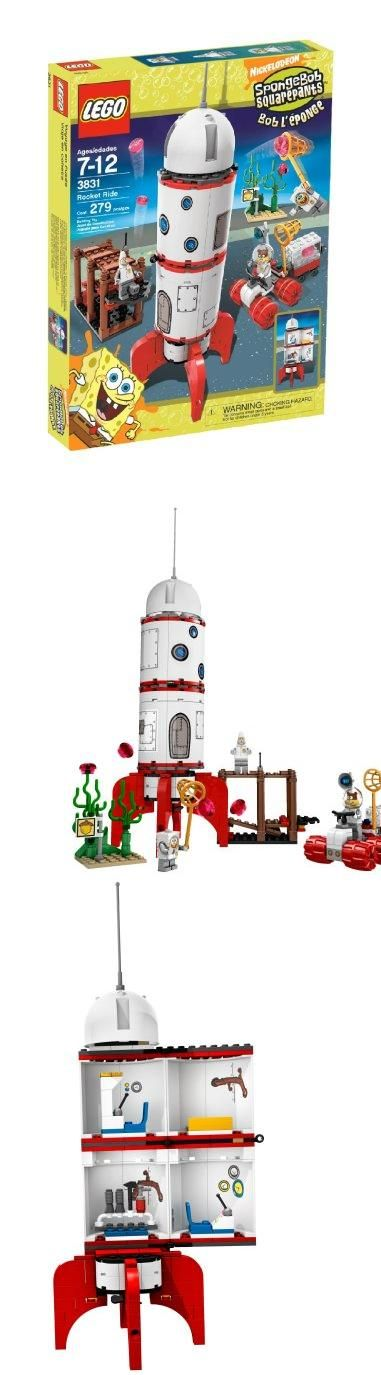 LEGO SpongeBob SquarePants Rocket Ride, SpongeBob, Patrick and Sandy are blasting off on an expedition to find alien jellyfish!, #Toys, #Building Sets