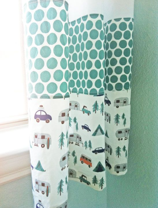how to make rv curtains