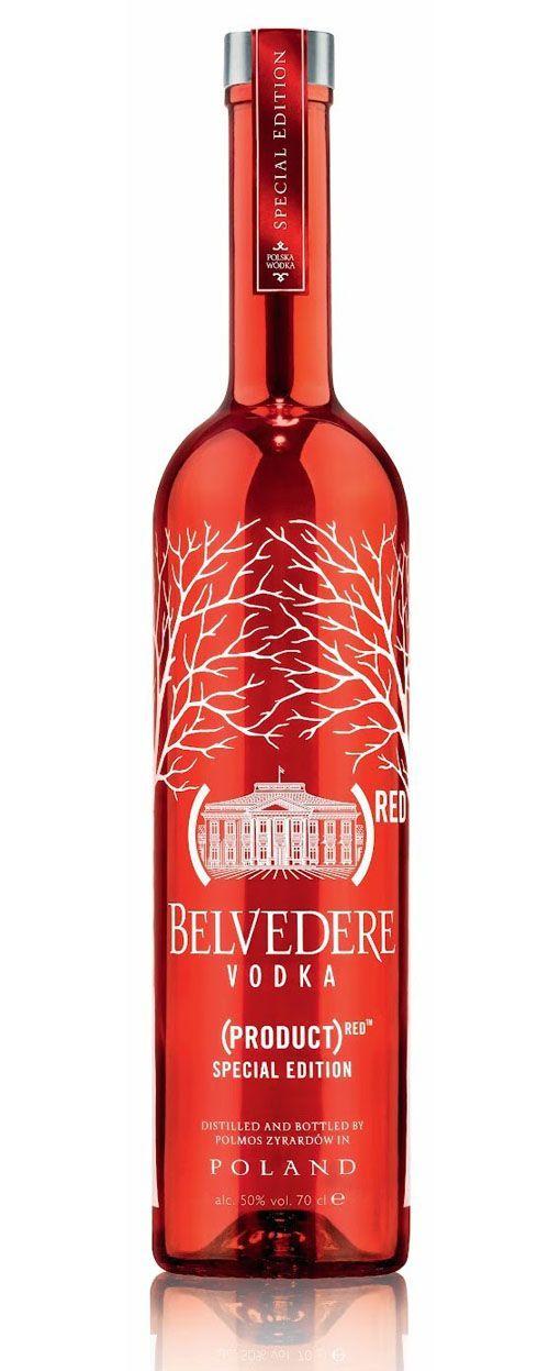 DRINK.CH Online Beverage Delivery Service Belvedere RED Special Edition Vodka 70cl - Vodka - Spirituosen | Your Personal Beverage Butler