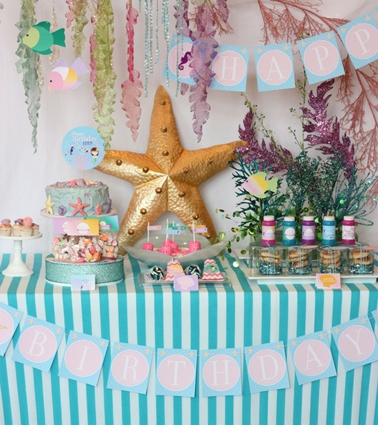 Under The Sea Baby Shower | Baby Shower Ideas / Under The Sea