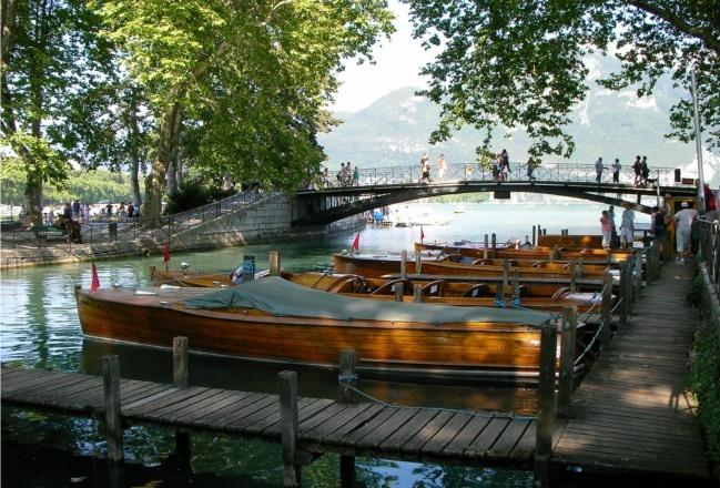 Pont des Amours à Annecy © OT Rive Gauche/S.Canessant