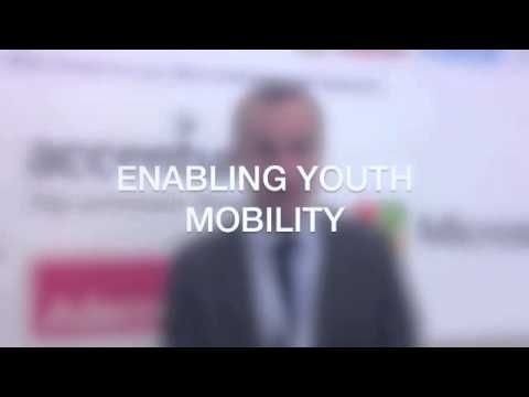 """Over the past year, AIESEC enabled a total of over 20,000 exchange experiences.     We are happy and proud to announce that AIESEC's Global Internship Programme has won recognition for """"Enabling Youth Mobility"""".    This award is presented by the European Alliance on Skills for Employability and sponsored by Adecco.    Congratulations to every AIESECer who has enabled a young person to travel across the world to have his/ her life changed."""