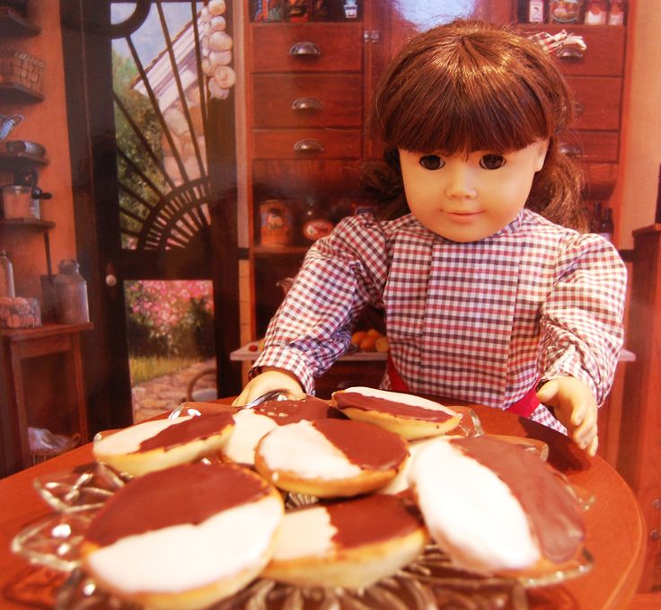 Black and White Cookies | American Girl History | Pinterest | Black ...