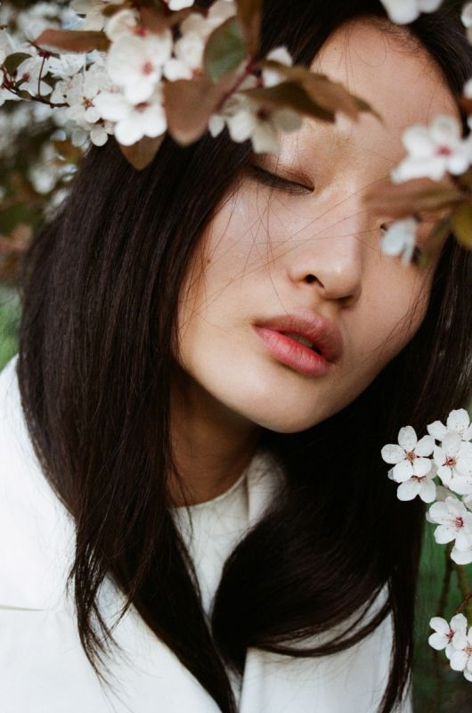 Hyun Li by Lina Scheynius for Dazed & Confused, June 2011