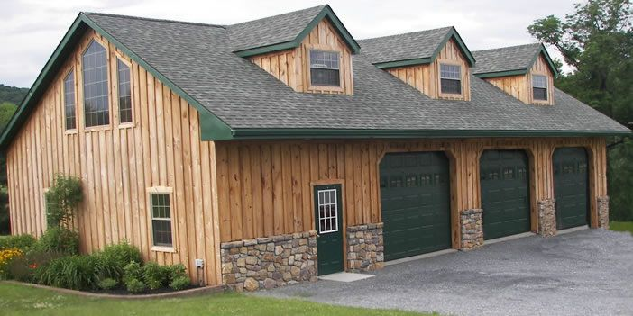 1000 Ideas About Garage Shed On Pinterest Shed Homes