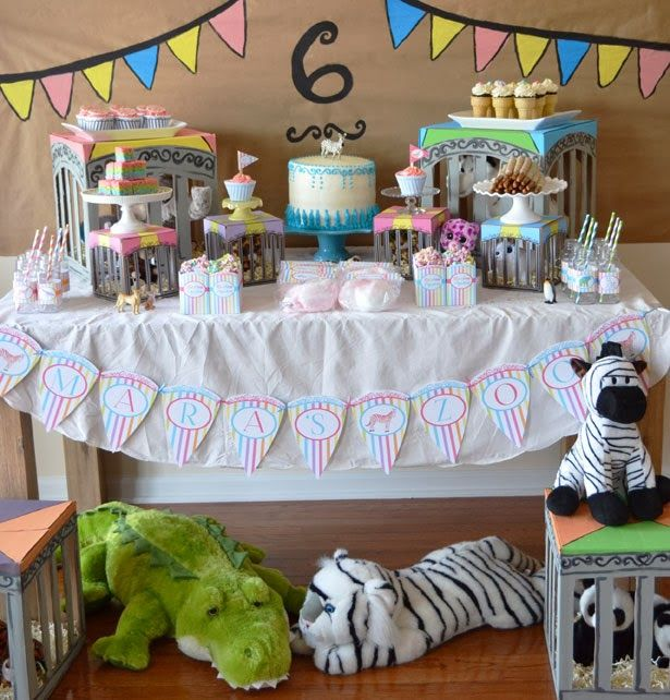 18 Best Zoo Party Images On Pinterest