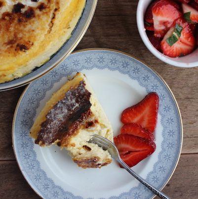 Spanish Cheesecake or Gazta Tarta Recipe  | Omnom Cheese Making | Sydney