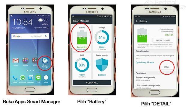 Smart Manager Merupakan Salah Satu Aplikasi Penghemat Baterai Samsung Yang Telah Tersedia Pada Perangkat Samsung Galaxy Terbaru Samsung Galaxy Samsung Baterai