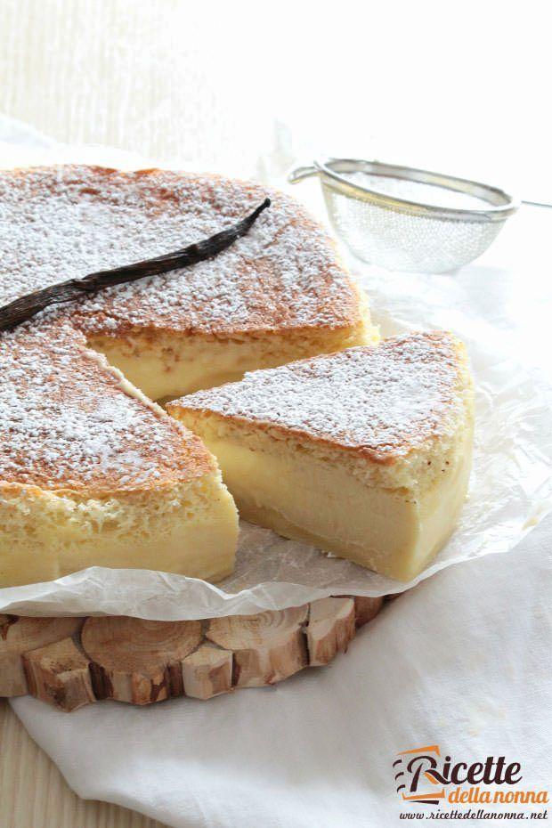Torta magica ricetta e foto