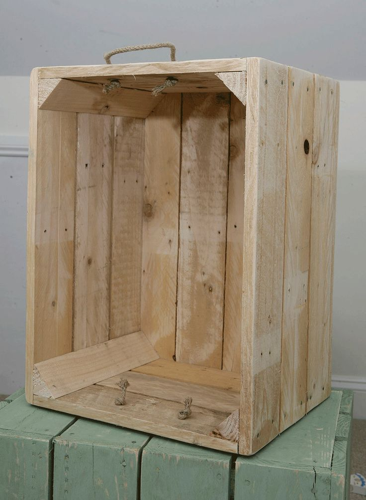 17 best ideas about apple crates on pinterest pallet for How to make apple crates