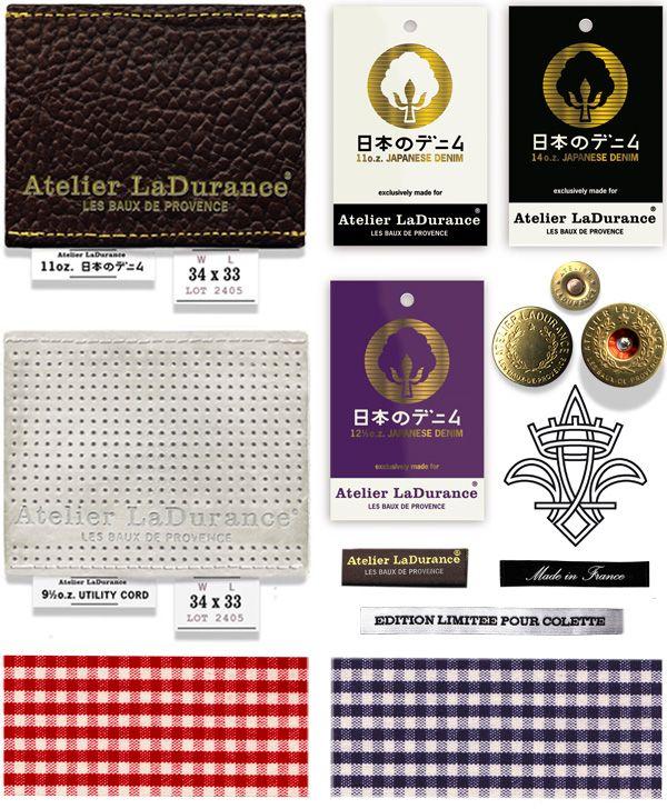 boy bastiaens | atelier ladurance | garment branding items