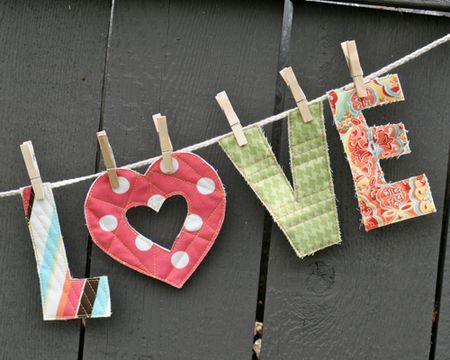 all you need is love garland