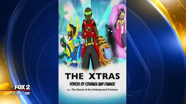 New comic book helps metro Detroit kids cope with social stigmas. http://www.fox2detroit.com/good-day/new-comic-book-helps-metro-detroit-kids-cope-with-social-stigmas?utm_content=buffer7b70f&utm_medium=social&utm_source=pinterest.com&utm_campaign=buffer